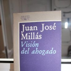 Libros: VISION DEL AHOGADO, JUAN JOSE MILLAS. ALFAGUARA 1977. Lote 121646599