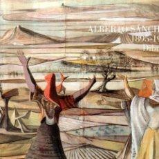Libros: ALBERTO SÁNCHEZ 1895-1962. DIBUJOS - NO CONSTA AUTOR. Lote 121690159
