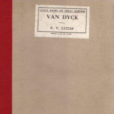 Libros: VAN DYCK - LUCAS, E. V.. Lote 121690187