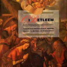 Libros: OI BETLEEM. GABONETAKO MUSIKA EUSKAL HERRIAN. - ANSORENA, JOSÉ LUIS. Lote 121690247