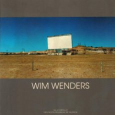 Libros: WIM WENDERS - WENDERS, WIM. Lote 121690460