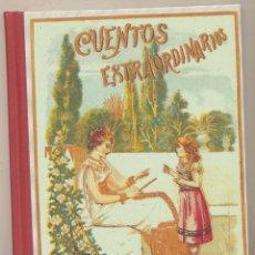 Libros: CUENTOS EXTRAORDINARIOS. S. CALLEJA. EDICIÓN DE EDAF DEL 2004. SIN USAR. 21, 5X15. TAPAS DURAS, 123. Lote 121831415