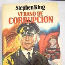 Libros: VERANO DE CORRUPCIÓN. Lote 121838180