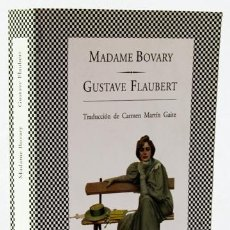 Libros: FLAUBERT, GUSTAVE: MADAME BOVARY (TUSQUETS) (CB). Lote 122062991