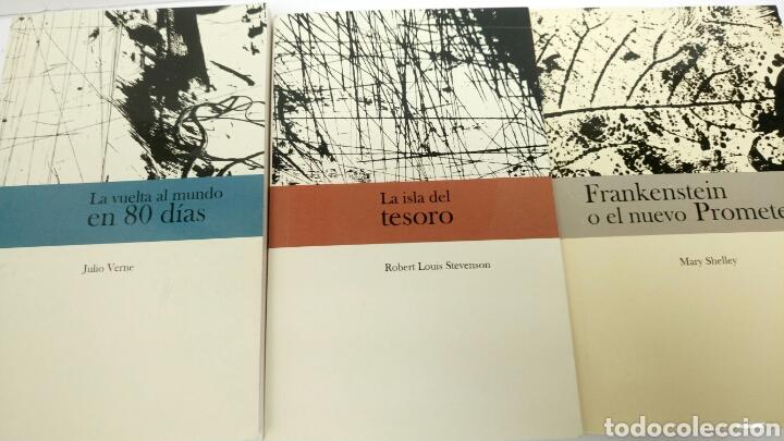 JOYAS DE LA LITERATURA, 7 LIBROS, LA ISLA DEL TESORO, FRANKENSTEIN, ETC. (Libros Nuevos - Literatura - Narrativa - Aventuras)