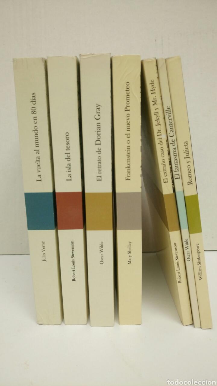 Libros: JOYAS DE LA LITERATURA, 7 libros, La isla del tesoro, Frankenstein, etc. - Foto 5 - 122090731
