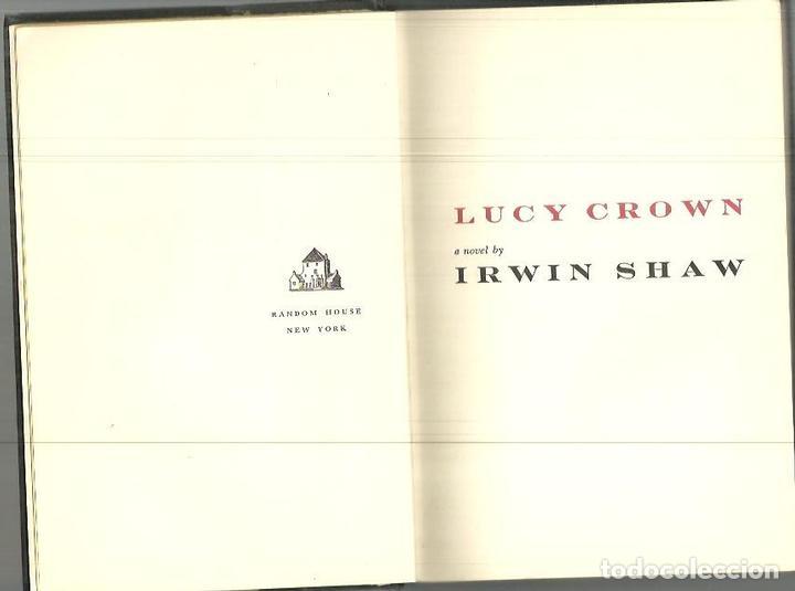 Lucy Crown Shaw Irwin Comprar Libros Sin Clasificar En