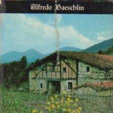 Libros: LA ARQUITECTURA DEL CASERÍO VASCO - BAESCHLIN, ALFREDO. Lote 122844734