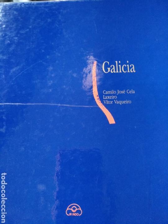 GALICIA. CAMILO JOSÉ CELA, ILUSTRACIONES DE LAXEIRO Y FOTOGRAFÍAS DE VÍCTOR VAQUEIRO (Libros sin clasificar)