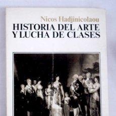 Libros: HISTORIA DEL ARTE Y LUCHA DE CLASES. Lote 124165118