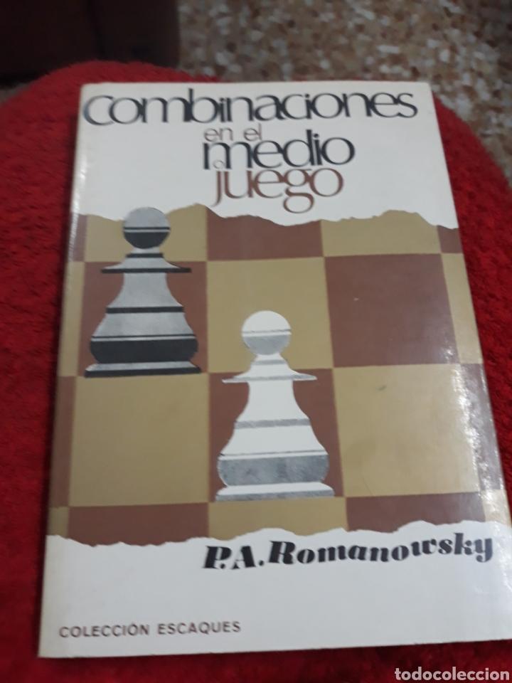 LIBRO: COMBINACIONES EN EL MEDIO JUEGO DE P.A. ROMANOWSKY (Libros sin clasificar)