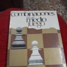 Libros: LIBRO: COMBINACIONES EN EL MEDIO JUEGO DE P.A. ROMANOWSKY. Lote 124301363