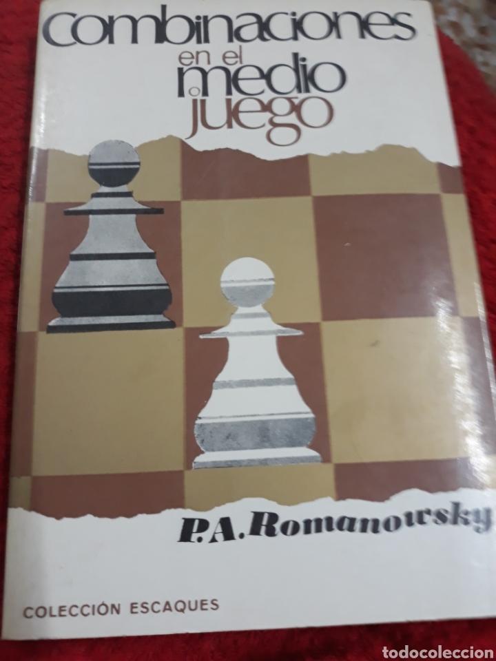 Libros: Libro: COMBINACIONES EN EL MEDIO JUEGO DE P.A. ROMANOWSKY - Foto 2 - 124301363
