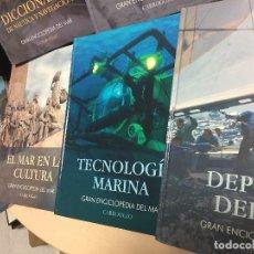 Libros: ENCICLOPEDIA DEL MAR, 7 TOMOS. Lote 124512443