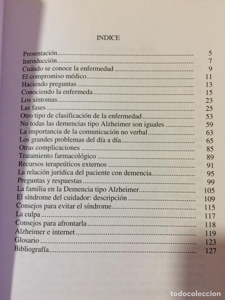 Libros: Guia para el cuidador de pacientes con demencia tipo Alzheimer - Dr Pascual y Barlés - Foto 2 - 124882544