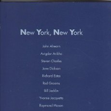 Libros: NEW YORK, NEW YORK. JOHN AHEARN. AVIGDOR ARIKHA. STEVEN CHARLES. JANE DICKSON. RICHARD ESTES. RED GR. Lote 124985514