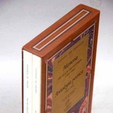 Libros: ANTOLOGÍA POÉTICA: 1953-1996 ; MEMORIA DE DOCE ESCRITORES (1956-1982). Lote 125105844