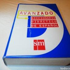 Libros: DICCIONARIO DIDÁCTICO DE ESPAÑOL AVANZADO 900 PÁGINAS SM. Lote 125239691