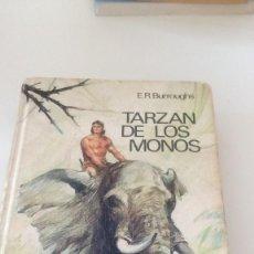 Libros: C-VA67NO9 LIBRO E.R. BURROUGHS TARZAN DE LOS MONOS CIRCULO DE LECTORES MAL ESTADO . Lote 126045071