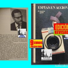 Libros: ESPÍAS EN ACCIÓN - DOMENECH PASTOR PETIT - CÍRCULO DE LECTORES - ESPIONAJE - EDICIÓN ACTUALIZADA. Lote 126060947