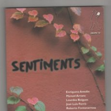 Libros: SENTIMENTS. - VV.AA.:. Lote 91466754