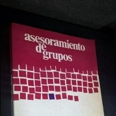 Libros: ASESORAMIENTO DE GRUPOS. JAMES C. HANSEN, RICHARD W. WARNER Y ELSIE M. SMITH. . Lote 126572487