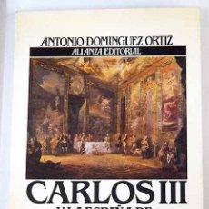 Libros: CARLOS III Y LA ESPAÑA DE LA ILUSTRACIÓN. Lote 126927891