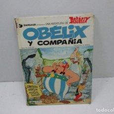 Libros: LIBRO - OBELIX Y COMPAÑIA - ASTERIX. Lote 126938275