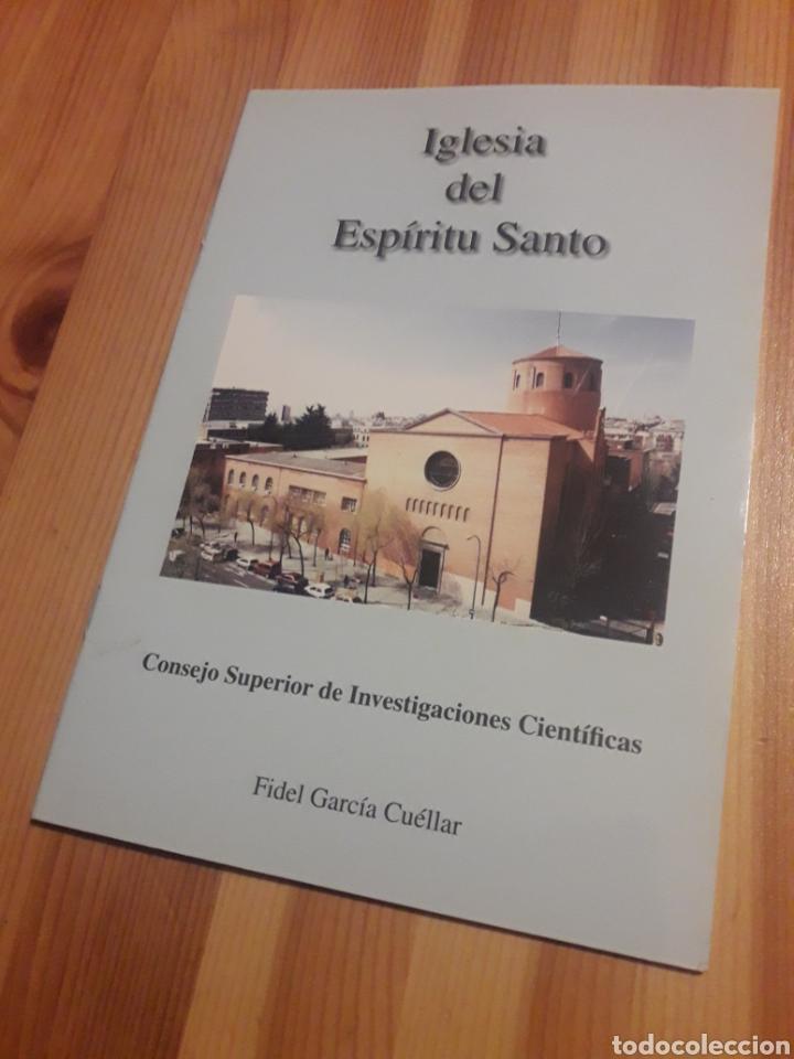 LIBRILLO IGLESIA DEL ESPIRITU SANTO CSIC CONSEJO SUPERIOR INVESTIGACIONES CIENTIFICAS (Libros sin clasificar)