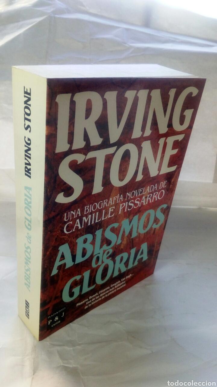 Libros: Abismos de gloria. Irving Stone. - Foto 3 - 127978667