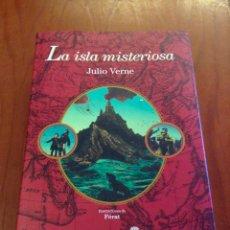 Libros: LA ISLA MISTERIOSA. JULIO VERNE. EDHASA. Lote 128006631