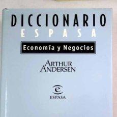 Libros: DICCIONARIO ESPASA ECONOMÍA Y NEGOCIOS. Lote 128319912