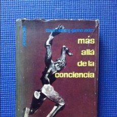Libros: MAS ALLA DE LA CONCIENCIA EL PESO DE LOS MUERTOS SOBRE EL PILOTO DE HIROSHIMA EATHERLY Y ANDERS. Lote 128730383