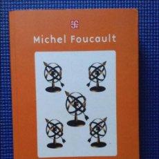 Libros: MICHEL FOUCAULT SEGURIDAD TERRITORIO POBLACION. Lote 128731159
