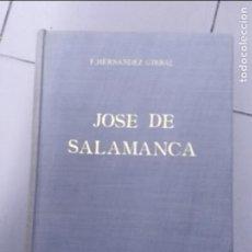 Libros: JOSE DE SALAMANCA MARQUES DE SALAMANCA EL MONTECRISTO ESPAÑOL F. HERNANDEZ GIRBAL. Lote 129113095