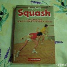 Libros: LIBRO OFICIAL DE SQUASH1986. Lote 130578270