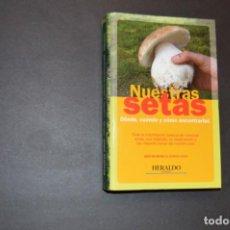 Libros: NUESTRAS SETAS - ARAGON - DONDE CUANDO Y COMO ENCONTRARLAS - FICHAS HERALDO - COMPLETO. Lote 130604606
