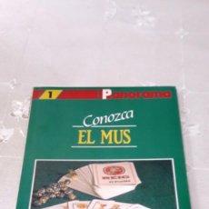 Libros: CONOZCA EL MUS - JOSE LUIS CRESPO MARCOS - 1992. Lote 130615590