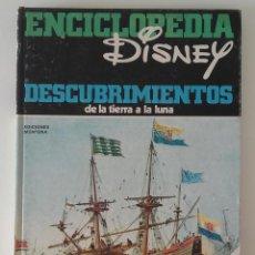 Libros: ENCICLOPEDIA DISNEY, DESCUBRIMIENTOS. Lote 130721794