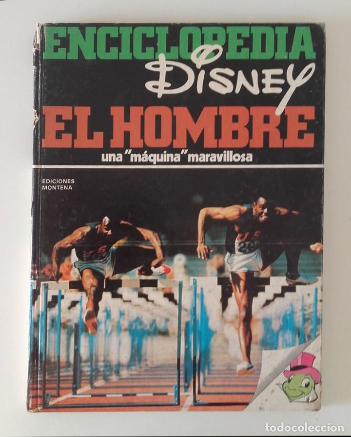ENCICLOPEDIA DISNEY, EL HOMBRE (Libros sin clasificar)