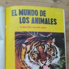 Libros: EL MUNDO DE LOS ANIMALES. Lote 130785320