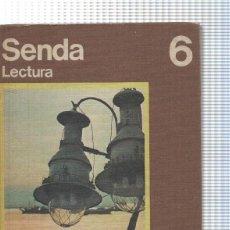 Libros: EGB. EDUCACION SANTILLANA: SENDA 6 LECTURA.. Lote 130805059