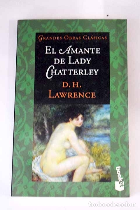 Resultado de imagen de el amante de lady chatterley libro