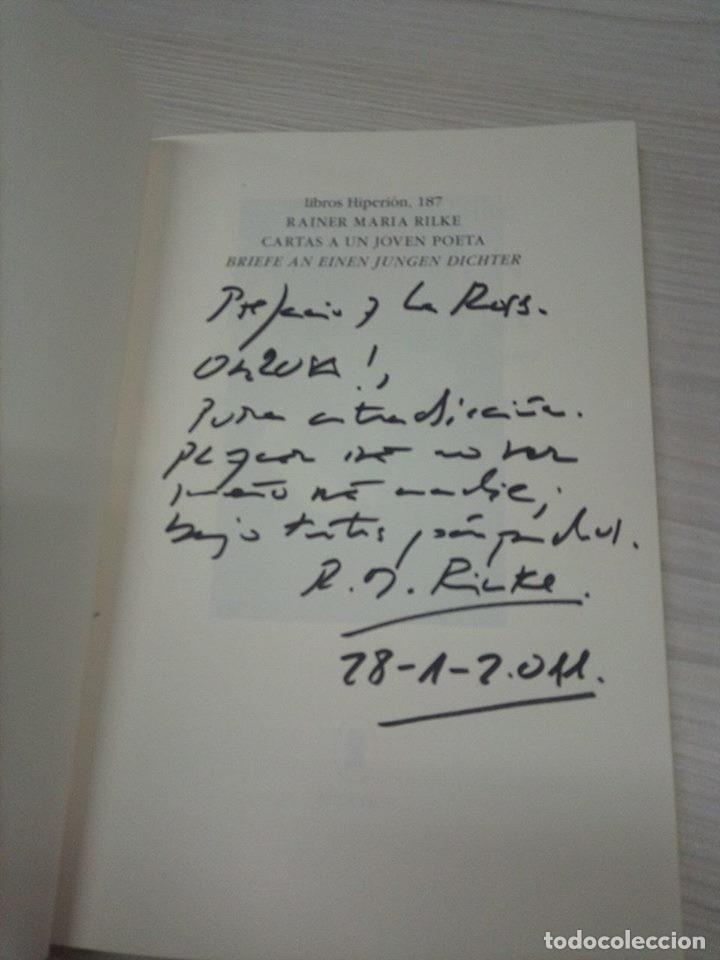 Libros: Cartas a un joven poeta. Rainer Maria Rilke. Bilingüe - Foto 2 - 130906824