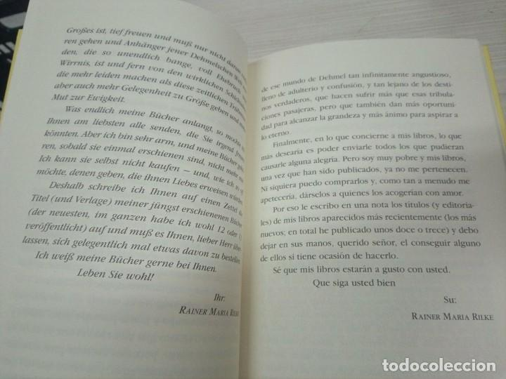 Libros: Cartas a un joven poeta. Rainer Maria Rilke. Bilingüe - Foto 3 - 130906824