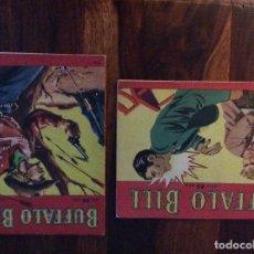 Libros: BUFFALO BILL NR. 23 Y NR 33 DEL AÑO 1953 EN SUECO EDITADOS EN ESTOCOLMO. Lote 130929680