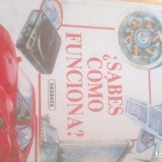 Libros: ¿SABES COMO FUNCIONA?, SUSAETA, 1991. Lote 130953976