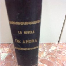Libros: 10 NOVELAS DE AHORA EMILIO SALGARI SATURNINO CALLEJA. Lote 131000016
