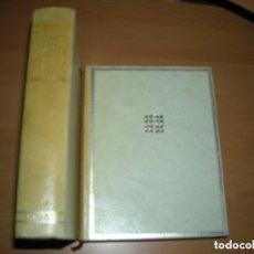 Libros: MIGUEL DE CERVANTES - OBRAS COMPLETAS- 2 TOMOS - AGUILAR EDICION CINCUENTENARIO 1970. Lote 131141036