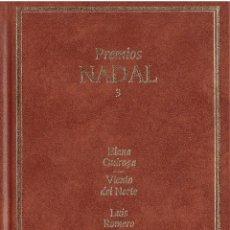 Libros: PREMIOS NADAL 3 - EDICIONES DESTINO, EDITORIAL PLANETA - OFERTAS DOCABO. Lote 131196056